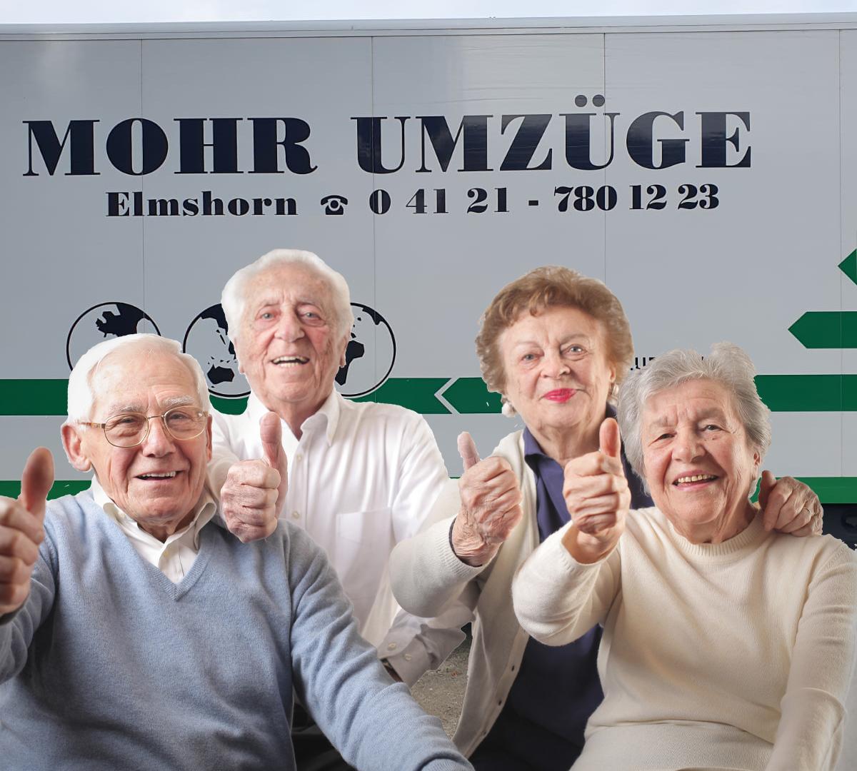 Umzüge für Senioren
